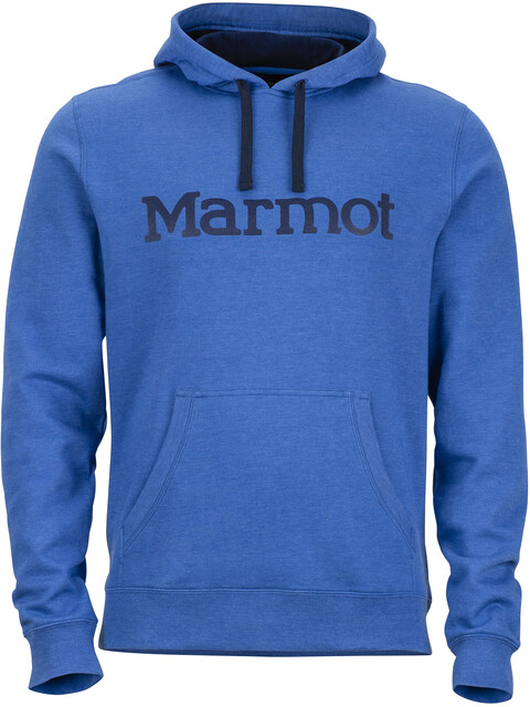 Marmot Hoody - Couche intermédiaire Homme - bleu